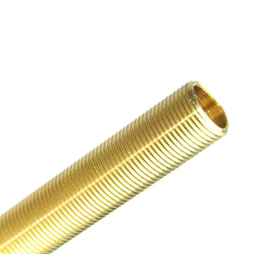 "½"" x 26tpi All-Thread Nipple Solid Brass Lengths Packs of 3"